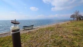 See Ohrid Mazedonien Stockfoto