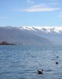 See Ohrid Mazedonien Stockbild