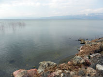 See Ohrid Mazedonien Stockfotografie