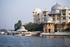 See-Palast in Udaipur, Indien Stockbilder
