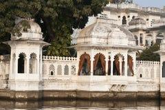 See-Palast in Udaipur, Indien Stockbild