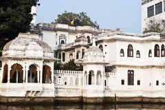 See-Palast in Udaipur, Indien Lizenzfreies Stockfoto