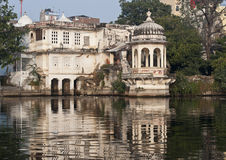See-Palast in Udaipur, Indien Stockfoto