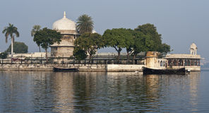 See-Palast in Udaipur, Indien Lizenzfreie Stockbilder
