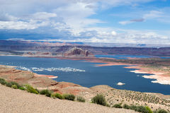 See Powel in Arizona lizenzfreie stockfotos