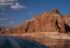 See Powell Colorful Cliffs Stockfoto