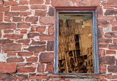 See the roof through the window Royalty Free Stock Image
