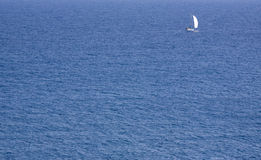 See and sailing vessel. Stock Images
