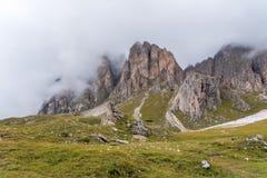 See Santa Caterina oder Auronzo See in der Provinz von Belluno, Italien lizenzfreie stockfotos