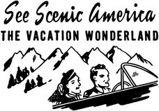 See Scenic America Royalty Free Stock Images