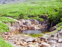 See in Schottland-Natur higlands Stockbild