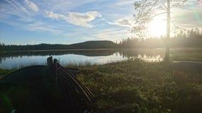 See in Schweden stockbild