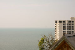 See sea view on top. See beautiful sea view on top Royalty Free Stock Images