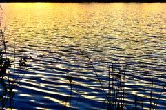 See-Sonnenuntergang Lizenzfreie Stockfotos