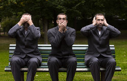 See,speak,hear no evil Royalty Free Stock Photos