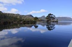 See-St. Clair, Tasmanien stockfotos