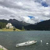 See St Moritz Lizenzfreies Stockbild