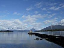 See Te Anau - Neuseeland Lizenzfreies Stockfoto