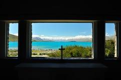 See Tekapo, Neuseeland Stockbilder