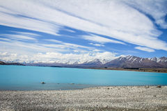 See tekapo in Neuseeland Stockfoto