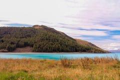 See Tekapo Neuseeland Lizenzfreie Stockfotografie