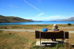 See tekapo in Neuseeland stockfotografie