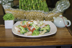 See Tung Ting Shrimp Lizenzfreie Stockbilder