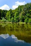 See und Bäume Stockbilder
