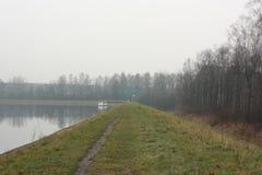 See und Bäume Lizenzfreies Stockbild