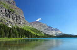 See und Berge Stockbild