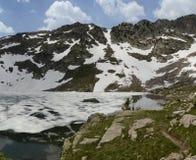 See und Berge in Colorado Lizenzfreie Stockfotos