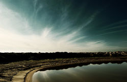See und Horizont Stockfotos