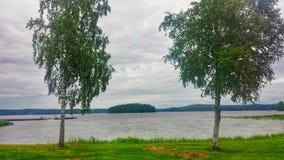 See- und Parklandschaft Stockfotos