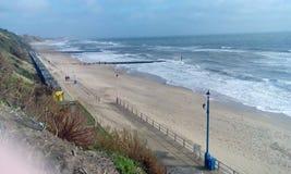 See- und Strandansicht Lizenzfreie Stockbilder