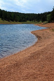 See und Ufer Lizenzfreie Stockbilder