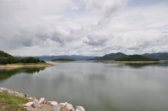 See und Wolke Stockfotografie
