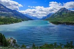 See und Wolken stockfoto