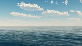 See- und Wolkenhimmel Lizenzfreie Stockfotos
