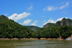 See und Yacht in Fujian, südlich von China Stockbilder