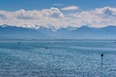 See unter Schneeberg Stockbilder
