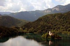 See verlaufen, Slowenien Stockfoto