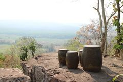 See view point on the hill. See view point on the hill royalty free stock photos