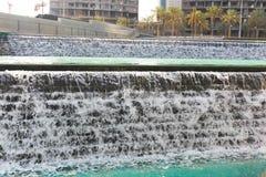 See von Dubai-Brunnen Lizenzfreie Stockfotografie