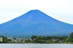 See von Kawaguchi mit Fuj-Berg Lizenzfreie Stockbilder