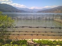 See von Pokhara Stockbilder