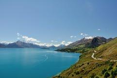 See Wakatipu - Neuseeland Lizenzfreie Stockfotos