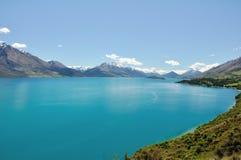 See Wakatipu - Neuseeland Lizenzfreie Stockfotografie