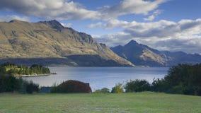 See Wakatipu, Neuseeland Lizenzfreies Stockfoto