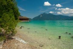 See Walchensee im Bayern - Deutschland Lizenzfreie Stockbilder