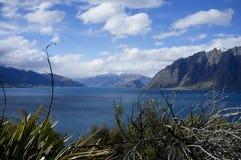 See Wanaka, Neuseeland stockfoto